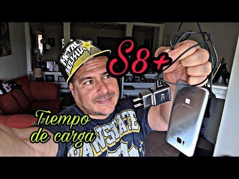 ***Reporte de CARGA RAPIDA - Samsung Galaxy S8+***