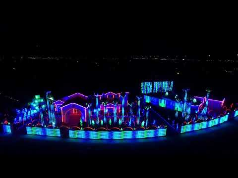 El Paso Christmas Light Show 2017