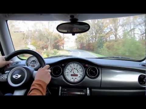 Test Drive The 2006 Mini Cooper S 6-spd Start Up, Exhaust, and Full Tour