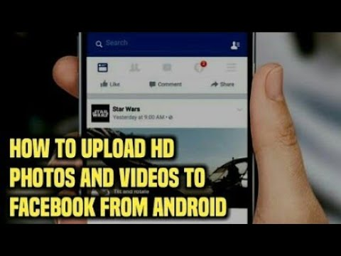 HOW TO UPLOAD HD PICTURES & HD VIDEOS IN FACEBOOK. EASY PROCESS.. JUST 1 MINUTE