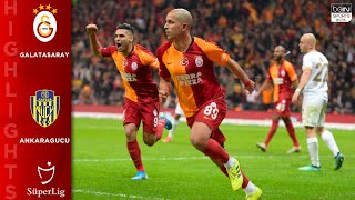 Galatasaray 2 2 MKE Ankaragucu HIGHLIGHTS amp GOALS 121419