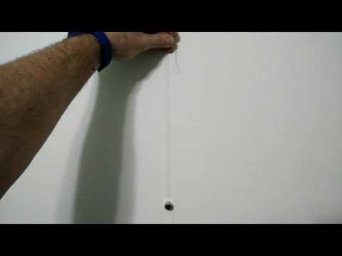 Easiest way to find studs in a plaster wall.