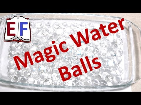Magic Water Balls : Science Experiment ( School Projects )