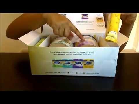 Free Enfamil Samples Box Review