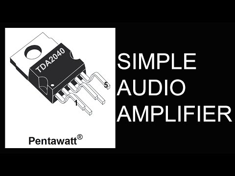 How to Make Simple Hi-Fi Audio Amplifier(HD)