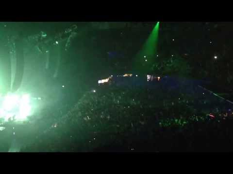 Calvin Harris and Tiësto Greater Than Tour O2 arena Dublin 19th Dec 2013