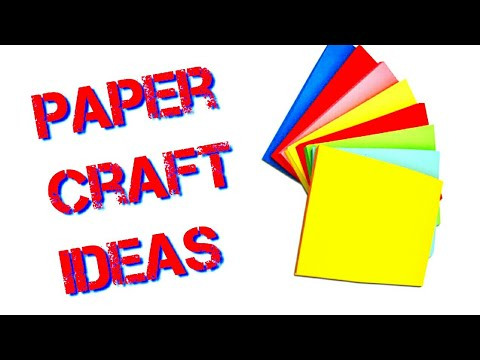 paper craft -  AMAZING paper flowers | art and craft ideas | be crafty