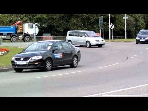 Roundabouts Driving Lesson - When can I go at a roundabout? #3