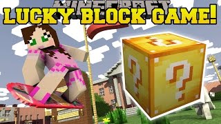 Minecraft: LUCKY BLOCK WOULD YOU RATHER!! - Modded Mini-Game