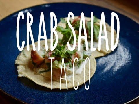 Taco Tuesday: King Crab Salad Tacos
