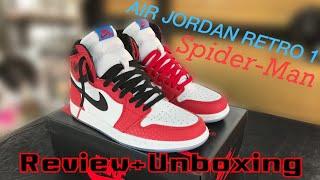 e99a70f09995 รีวิว Review Nike Air Jordan Retro 1 high OG Spider-man🕷🕸