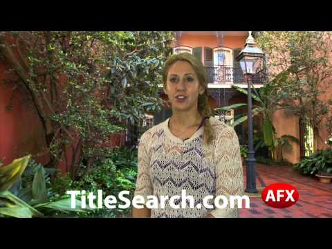 Property title records in Jefferson Parish Louisiana | AFX