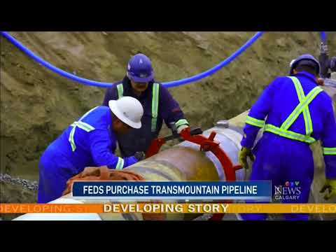 Feds spending $4.5B to buy Trans Mountain pipeline