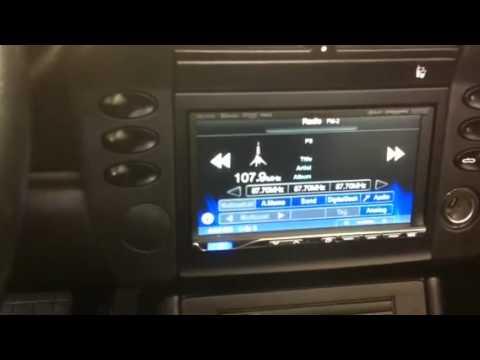 Porsche 2003 boxster alpine touch screen ICSX7HD al&eds Ont