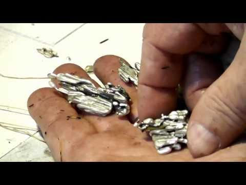 Make Silver Jewelry - How to cast free form silver pendants