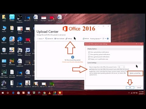 How to Clear & Reset Cache of Microsoft Office 2016 (solved any problem)