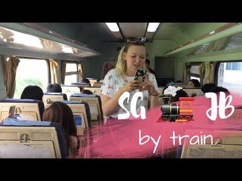 JOHOR BAHRU VIA TRAIN (Vlog #6: JB)