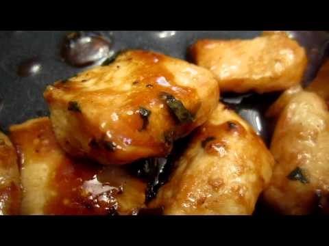 Cooking result - chicken breast with Hoisin sauce