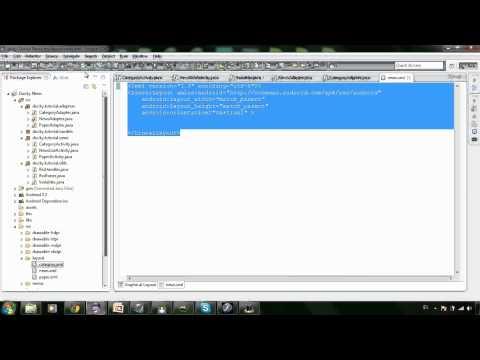 News 16: ArrayAdapter for NewsListActivity