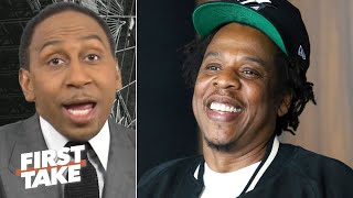 Stephen A. suspects Jay-Z has something to do with Colin Kaepernick's NFL workout | First Take