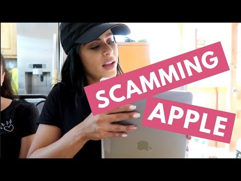 Scamming The Apple Store
