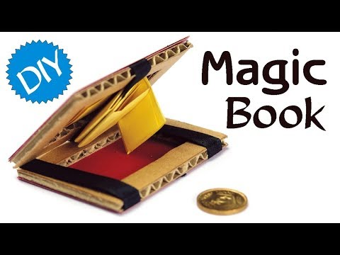 How to Make Magic Book Using Cardboard & Paper