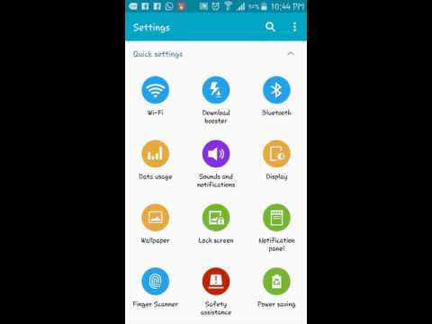 How To Change Wallpaper + Lock Screen Of Samsung Galaxy s5