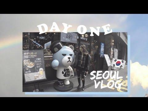 Myeongdong, YGRepublique & (Getting Roasted While) Shopping || seoul day one