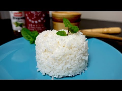 How to Cook PERFECT Rice WITHOUT a Rice Cooker With SECRET INGREDIENT
