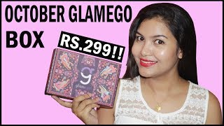October GlamEgo Box | Unboxing & Review | 5products @399 Rs | INDIANGIRLCHANNEL TRISHA