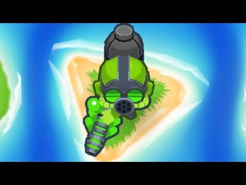 Bloons Tower Defense 6 - 5th Tier Glue Gunner - The Bloon Solver