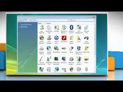 Windows® Vista: How to change the default keyboard settings?