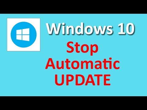 How to Stop Windows 10 updates automatically