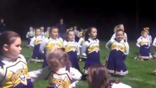 WGAC Pep Rally 2013 Cheerleaders