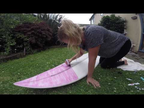 DIY surfboard making