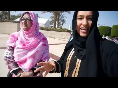 DUBAI DAY4 - HIJABI FOR A DAY+SEA WEED TOUCHING!