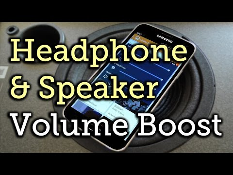 Increase Speaker & Headphone Volume on Your Samsung Galaxy S5 [How-To]