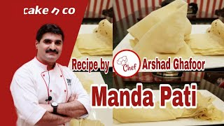 Manda pati ( samosa sheets ) recipe by Cake n co
