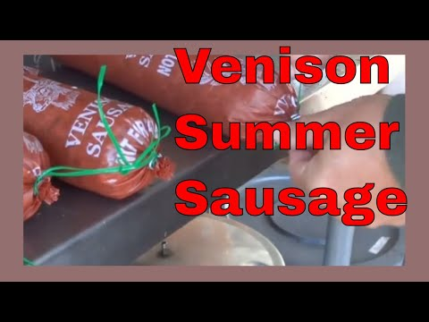 How to Make Venison Summer Sausage Start to Finish