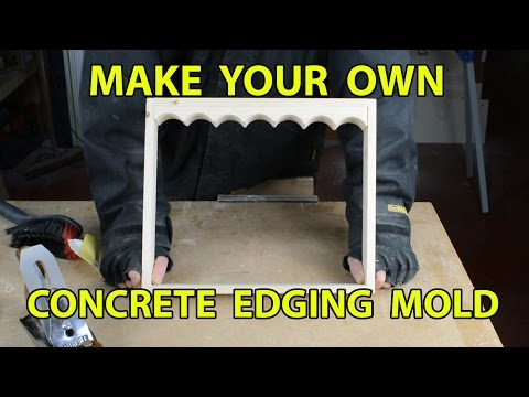 Make Your Own Concrete Edging Part 1