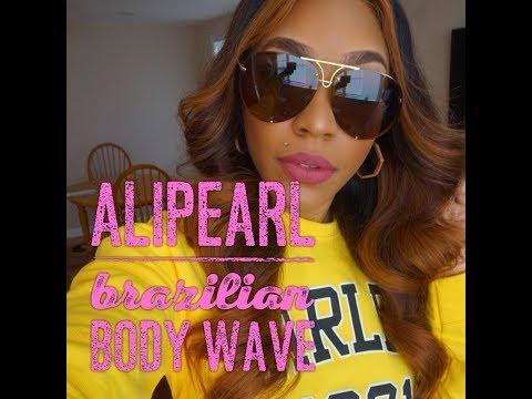 AliPearl Brazilian Body Wave 3week Review