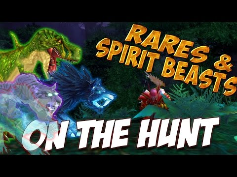 RARES AND SPIRIT BEASTS!! On The Hunt WoW Legion Patch 7.1