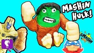 Mashem Max is the HULK! Play-Doh Game with HobbyKidsTV