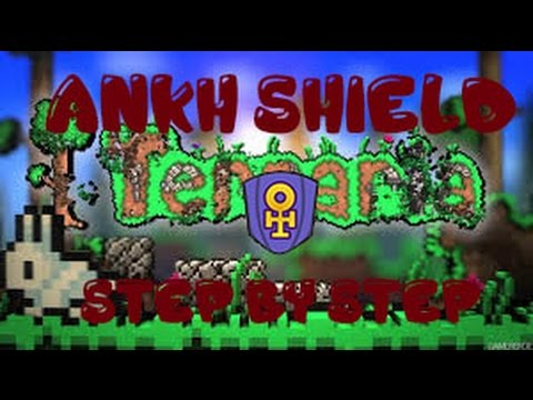 How To Get The Ankh Shield Step By Step | Terraria 1.3.1