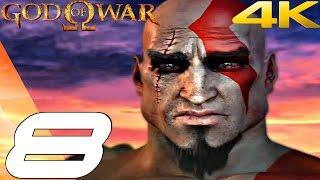 God Of War 1 Hd - Gameplay Walkthrough Part 8 - Minotaur Boss Fight [4k 60fps]