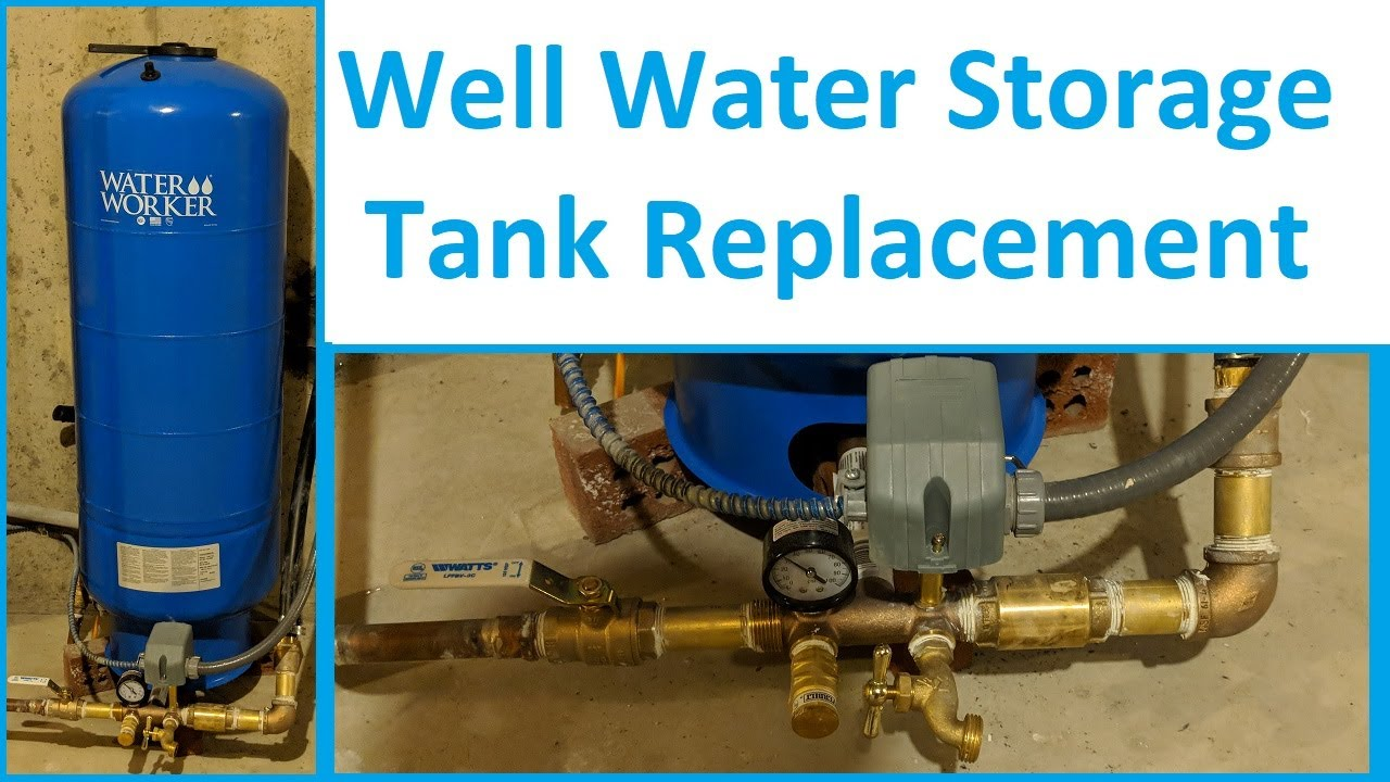 Well Pump Short-Cycle - Water Tank Replacement and Troubleshooting  Highlights - WaterWorker HT-32B