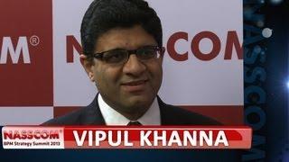 Vipul Khanna, Svp & Global Head, Cognizant Business Process Services