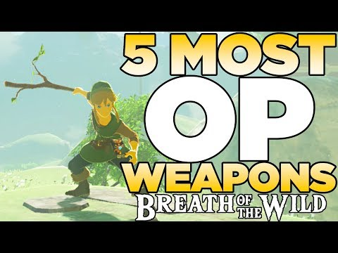 5 Most OP Weapons in The Legend of Zelda: Breath of the Wild | Austin John Plays