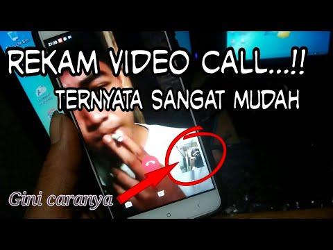 Trik tersembunyi___cara MEREKAM VIDEO CALL di whatsapp, bbm ,imo , dll