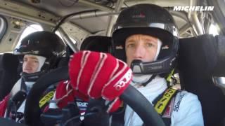 Meeke testing - 2017 WRC Rallye Monte-Carlo - Michelin Motorsport